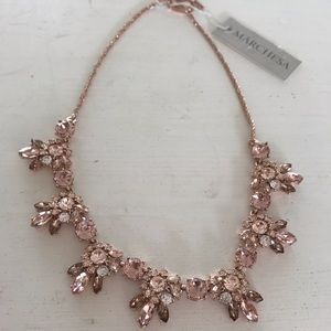 Marchesa necklace pink